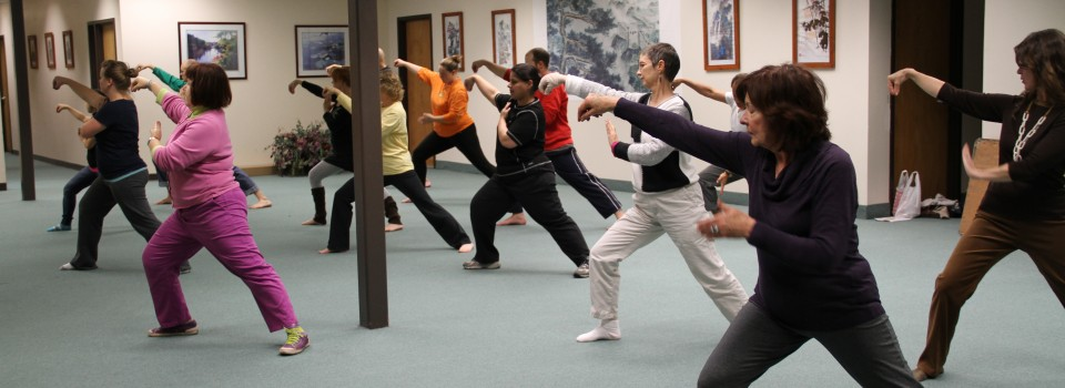 Come take Tai Chi or Qi Gong at AAAOM